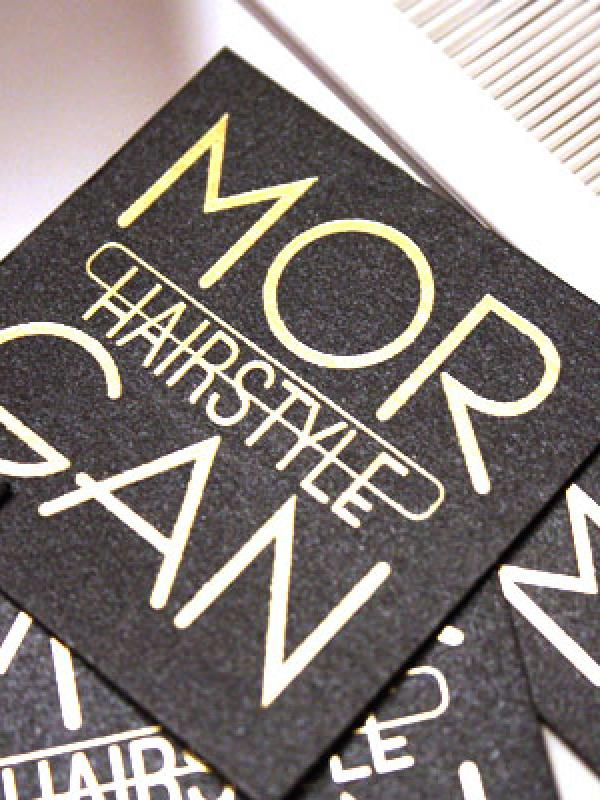 Morgan Hairstyle - business card